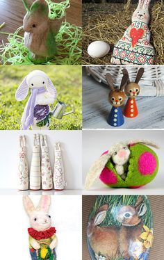 Here Comes Peter Cottontail by Rebecca on Etsy--Pinned with TreasuryPin.com