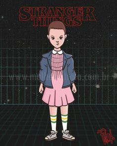 Eleven Stranger Things por Re Vitrola