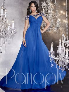 222400f75bb 2016 Prom Dress Blue Evening Dress  Formal Dress Panoply Style 14738 Prom  Dresses 2016
