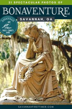 Get the scoop from a local about the best Bonaventure Cemetery Tours, which headstones are notable, and some of the best things to do in Savannah during your visit.   savannahfirsttimer.com Visit Savannah, Savannah Chat, Bonaventure Cemetery, Us Road Trip, Countries To Visit, Hot Spots, Travel Articles, Ultimate Travel, Usa Travel