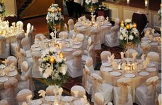 Best White And Gold Wedding Reception S Styles Amp Ideas 2018 Design Of Rose Gold Table Decorations Of Rose Gold Table Decorations With Gold Wedding Table Decorations Within White Gold Table Wedding Decoration Summer Decoration, Summer Wedding Decorations, Wedding Table Centerpieces, Wedding Table Settings, Decoration Table, Gold Decorations, Flowers Decoration, Wedding Reception Chairs, Wedding Tables