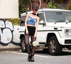 * ANAP USA�� . SELECTED by Los Angeles * バックシャーリングデニムビスチェ (213-6640/blue_S/M/L) メッシュシースルージョガーパンツ (212-6641/black_S.M.L) * https://www.anapnet.com/usa ✔TOP画面のURLから要check * #ANAP#anapUSA#anaplatina#anapmimpi #celebrity#fashion#ootd#denim #beauty#fashionista#LosAngeles #styling#coordinate#fashionable #instafashion#loveit#California #コーディネート#ファッション #海外セレブ#アナップ#デニム http://tipsrazzi.com/ipost/1505688176462584146/?code=BTlR2tEjtlS
