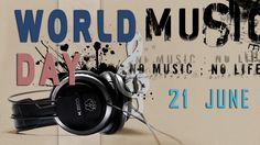 Music has no language...no boundaries and no barriers... It transcends all borders and brings the whole world together.... Celebrate #World #Music #Day today and spend a musical day with us!
