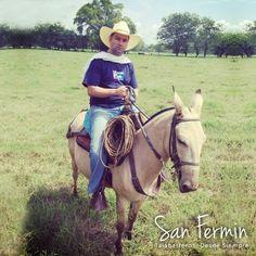 Una buena mula, una silla cómoda y un buen rejo, son la mejor compañía para una larga jornada  #TalabarteriaSanFermin #Cabalgata #Colombia #SillasSanFermin #Caballistas