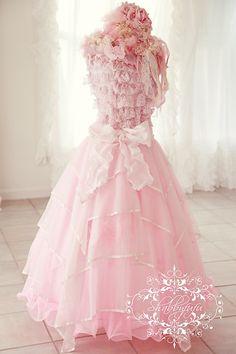 Romantic Dress Forms #pink