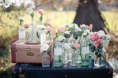 Shabby Chic Ideas de la boda