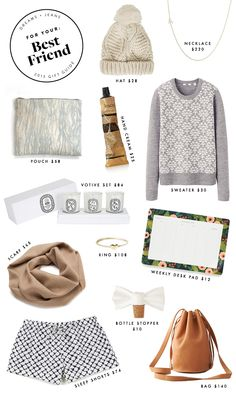 holiday gift guide: for your bestfriend