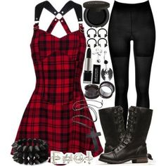 grunge goth A fashion look from December 2013 featuring mini dress, SPANX and winter boots. Browse and shop related looks. Grunge Fashion, Emo Fashion, Gothic Fashion, Fashion Outfits, Lolita Fashion, Club Fashion, Queer Fashion, Steampunk Fashion, Urban Fashion