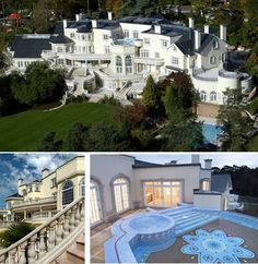 10 of the World's Most Insanely Luxurious Houses- 2. Updown Court, England - The most important private residence to be built in England since the 19th century. Updown Court is situated only 25 miles from London. The property is best known for its price tag: more than (150 million US$, 103 rooms, 5 swimming pools, 24-carat-gold leafing on the study's mosaic floor. The property has a squash court, bowling alley, tennis court, 50-seat screening room, heated marble driveway and helipad.