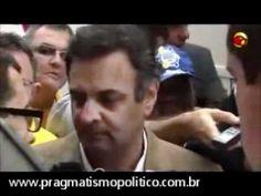 Aécio Neves dá chilique ao ser questionado sobre seu envolvimento com Ca...