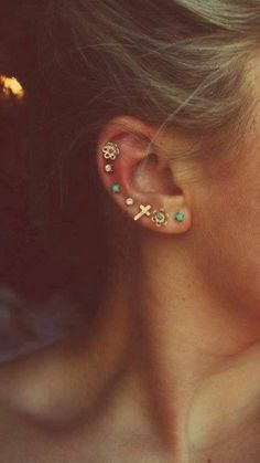 Multiple Piercings