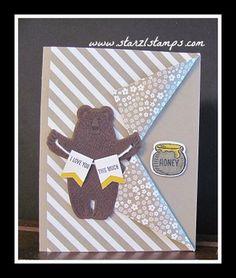 Bear Hugs Stamp set and Framelits Dies