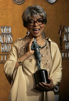 """Ruby Dee, an Oscar-nominated actress whose career spanned five decades, died peacefully on June 11 at her New Rochelle, N.Y., home from age-related causes. She was 91. A Raisin in the Sun, Roots, The Stand ~ I still quote one of her lines as Mother Abigail Freemantle from The Stand, """"Mayhap you is & Mayhap you ain't""""... What a career (1946 to 2013)!!! Such a beautiful & memorable woman!!"""