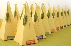 Tea Forte Pyramid shaped teabag box