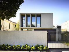 Home tour en vivienda de diseño en Brighton, Melbourne. #Hometour #Melbourne #Diseño #design #Canny #Entrada #fachada