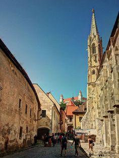 to the castle in bratislava