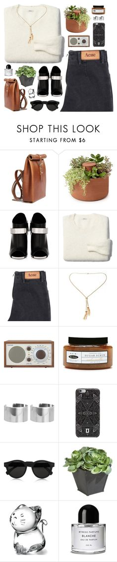 """ripping through the waves"" by martosaur ❤ liked on Polyvore featuring Chloe Stanyon, Giuseppe Zanotti, Madewell, Acne Studios, Tivoli Audio, de-luxe, ASOS, DANNIJO, Illesteva and Ethan Allen"