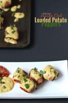 ... inside out loaded potato poppers these dairy free inside out loaded