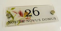 Noster Novus Domus ... from #Yorkshire to #Italy our House Signs travel far #Madeinengland  Beautiful isnt it! I can just picture it @home somewhere in the Beautiful Country Italy ...  pic.twitter.com/XBrKcPucqb  http://www.de-signage.com/modern-acrylic-house-sign.php