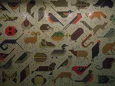 Charlie Harper mosaic