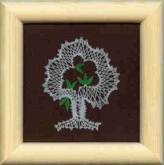 Obrázek - léto Lace Art, Lace Jewelry, Lace Making, Bobbin Lace, Lace Flowers, Lace Detail, Diy And Crafts, Butterfly, How To Make