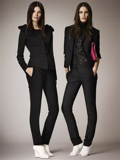 SS14 RTW FEMALE BOSS BURBERRY SUIT