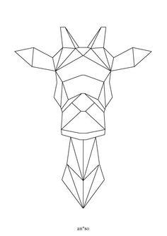 """Image of Cartes à broder """"Origami"""""""