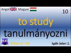 19/59 Igék: Jelen (2) (Magyar - Angol Szavak)(English - Hungarian top words) - YouTube Cc Video, My Passion, Youtube, English, Education, Learning, Words, Languages, Top