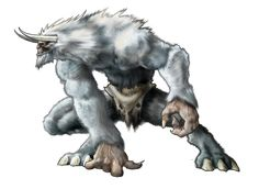 use your illusion. Snow Monster, Monster Art, Monster Characters, Fantasy Characters, Magical Creatures, Fantasy Creatures, Yeti Creature, Dark Fantasy, Monster Concept Art