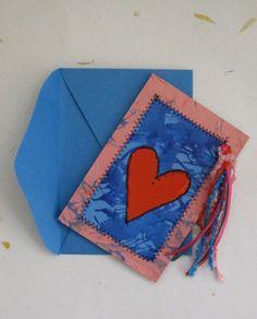 Cartão de papel costurado (clique na foto e confira)