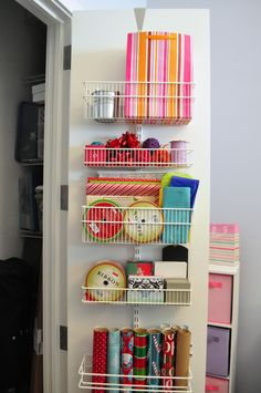 elfa wall unit from container store