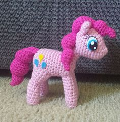 Another adorable My Little Pony crochet pattern!