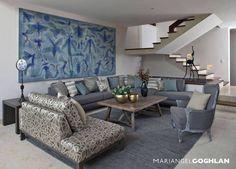 Sala: Salas de estilo moderno por MARIANGEL COGHLAN