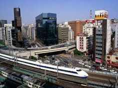 Google Image Result for http://www.fantom-xp.com.\   Bullet Train Ginza District, Tokyo, Japan
