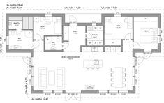 Planlösning Philippines House Design, Philippine Houses, Interior Architecture, Floor Plans, Flooring, How To Plan, Sims, Interiors, Unique