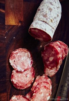 Salami is not too hard to make at home, but it's nothing like store-bought. Home cured meats and sausages are so much better! Here is the recipe and detailed instructions for homemade Sopressata that I make quite regularly. I guarantee it, you will love this recipe.
