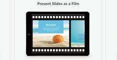 slideidea: gratuita para hacer presentaciones con iPads.