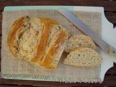 Bocadinhos de Açúcar: Pão com cebolinho e presunto