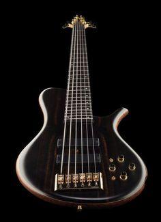 Marleaux MBass 6 Macassar www.thomann.de #bass #bassguitar #beautiful #pretty #gear #instrument #deep #sound #guitar #guitars #bassist