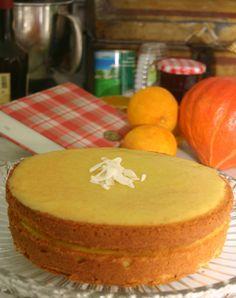 Dan Lepard's Orange Macaroon Cake.