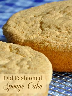 The Best Homemade Old Fashioned Sponge Cake - A simple, basic, yet versatile sponge cake recipe that can become the basis of many different desserts, trifles or dessert cakes.