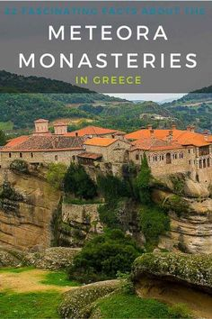 Meteora should be included in your travel planning to Greece. A UNESCO site that will will appeal to both culture and nature lovers alike! Book your tour here: http://monkeysandmountains.com/meteora-tours-greece-travel/
