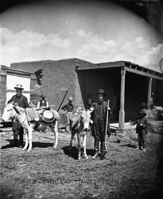"""""""Ye Old Time Prospector, Pecos, New Mexico"""" Photographer: Ben Wittick Date: 1880 - Negative Number 015603 New Mexico History, Us History, History Museum, Native American Art, American History, New Mexico Usa, Land Of Enchantment, Photo Postcards, Old West"""
