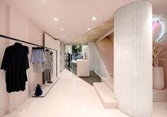 View the full picture gallery of Boutique Shop Interior Design, Store Design, Orchid Salon, Villa Design, Boutique Design, Shop Interiors, Girl Photography Poses, Decoration, Architecture Design