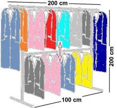 Popular Details zu begehbarer Kleiderschrank KLEIDERSTANGE Kleiderst nder GARDEROBEZIMMER Art W Bachelorette pad