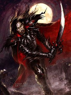 ✯ Vampire Warrior .. By *Kir-tat*✯