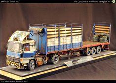 Truck Scales, Military Modelling, Model Train Layouts, Toy Trucks, Fire Engine, Model Building, Custom Trucks, Diecast Models, Model Trains