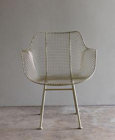 Lostine - biscayne armchair - silver