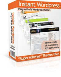 I'm selling Instant Wordpress Themes - $1.00 #onselz