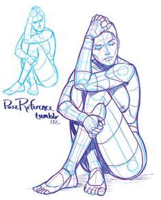 AnatoRef — Pose References by Justin Martin Kickstarter. Manga Drawing Tutorials, Art Tutorials, Drawing Sketches, Art Drawings, Drawing Tips, Person Drawing, Drawing Base, Drawing People, Figure Drawing Reference